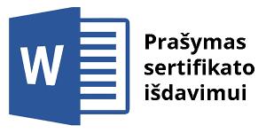 prasymas energinio naudingumo sertifikatui